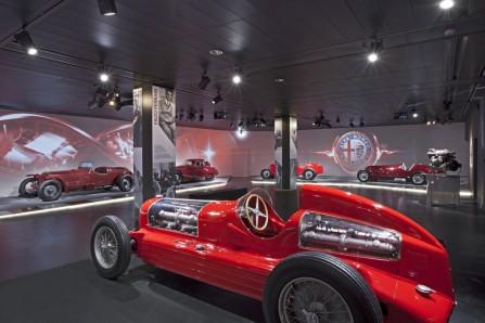 SB Italia museo Alfa Romeo