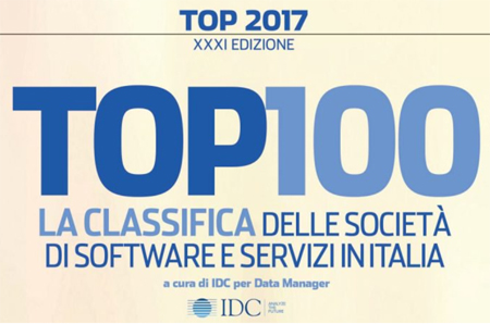 Classifiche IDC TOP 100: l'ingresso di SB Italia