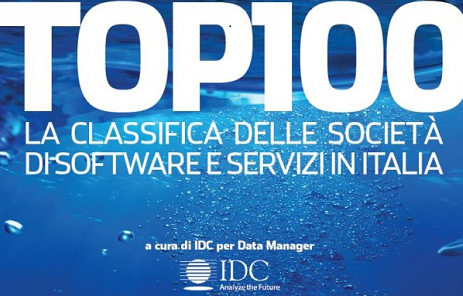 SB ITALIA SCALA LA CLASSIFICA IDC TOP 100