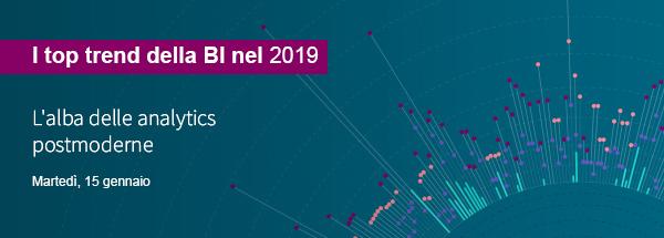 I Top Trend della BI nel 2019 secondo Qlik - webinar