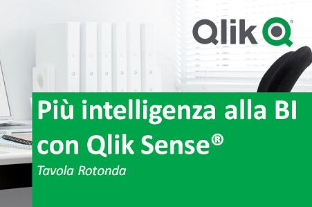 Più intelligenza alla BI con Qlik Sense®