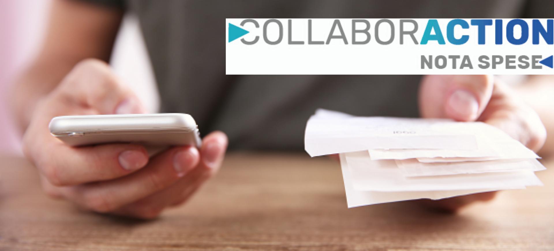 Webinar gratuito 20.03.2020 | Nota Spese in mobilità: veloce sicura e a norma. Basta un'App: CollaborAction Nota Spese di SB Italia